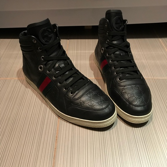 Gucci Shoes | Gucci Mens Sneakers Hitop
